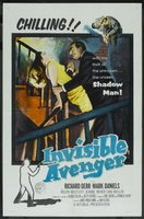 The Invisible Avenger movie poster (1958) picture MOV_4ade81a5