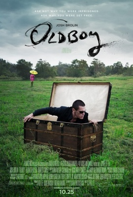 Oldboy movie poster (2013) poster MOV_4afca395