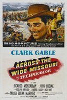Across the Wide Missouri movie poster (1951) picture MOV_4b10a7c7