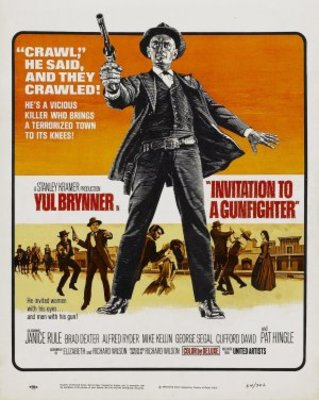 Invitation to a Gunfighter movie poster (1964) poster MOV_4b14bd4c
