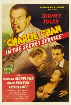 Charlie Chan in the Secret Service movie poster (1944) poster MOV_4b1e6c51