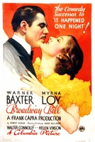 Broadway Bill movie poster (1934) picture MOV_4b269d52