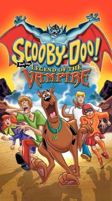 Scooby-Doo and the Legend of the Vampire movie poster (2003) poster MOV_4b35d280
