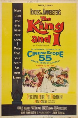 The King and I movie poster (1956) poster MOV_4b360aa1