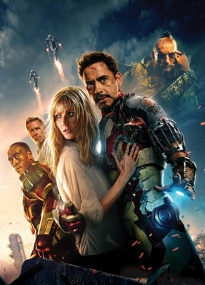 Iron Man 3 movie poster (2013) poster MOV_4b60e11f