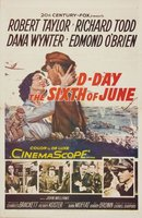 D-Day the Sixth of June movie poster (1956) picture MOV_4b6cc6b2