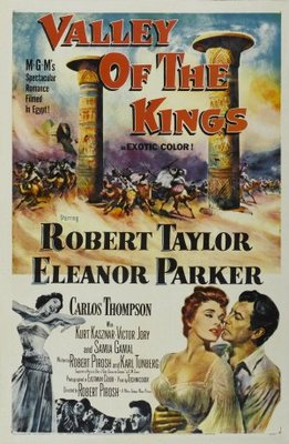 Valley of the Kings movie poster (1954) poster MOV_4b970b71