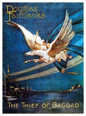 The Thief of Bagdad movie poster (1924) poster MOV_4bb25625
