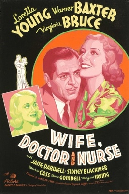 Wife, Doctor and Nurse movie poster (1937) poster MOV_4bb9cbd7