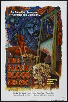 The Flesh and Blood Show movie poster (1972) poster MOV_4bbc3f60