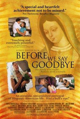 Before We Say Goodbye movie poster (2010) poster MOV_4be661af