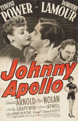 Johnny Apollo movie poster (1940) poster MOV_4bf47a1d