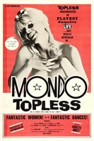 Mondo Topless movie poster (1966) picture MOV_4bf5d906