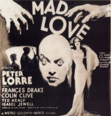 Mad Love movie poster (1935) poster MOV_4bf692b8