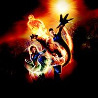 Fantastic Four movie poster (2005) picture MOV_4bf85e37