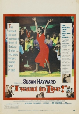 I Want to Live! movie poster (1958) poster MOV_4c0490dd