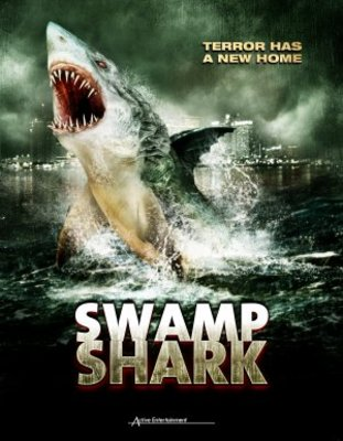 Swamp Shark movie poster (2011) poster MOV_4c08c8fd