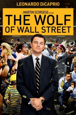 The Wolf of Wall Street movie poster (2013) poster MOV_4c292c69