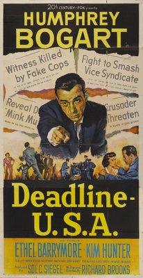 Deadline - U.S.A. movie poster (1952) poster MOV_4c2a2de3