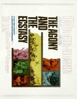 The Agony and the Ecstasy movie poster (1965) picture MOV_4c470b63
