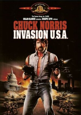 Invasion USA movie poster (1985) poster MOV_4c6fe143