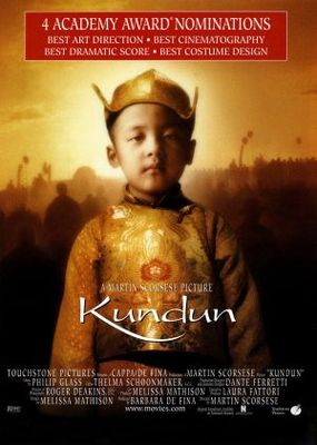 Kundun movie poster (1997) poster MOV_4c884061