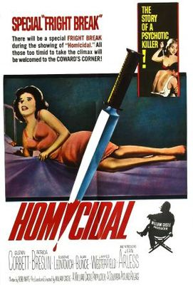 Homicidal movie poster (1961) poster MOV_4ca0410b