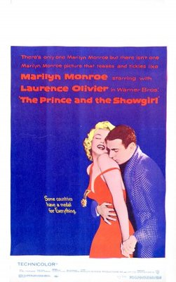 The Prince and the Showgirl movie poster (1957) poster MOV_4ca1596a