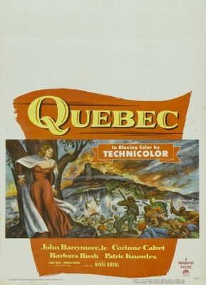 Quebec movie poster (1951) poster MOV_4cca756c