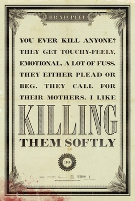 Killing Them Softly movie poster (2012) poster MOV_4d0d5e4f