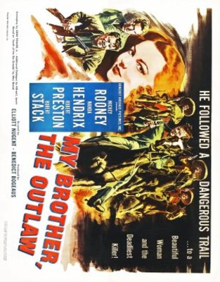 My Outlaw Brother movie poster (1951) poster MOV_4d114b6f