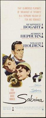 Sabrina movie poster (1954) poster MOV_4d296f5c