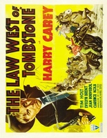 The Law West of Tombstone movie poster (1938) picture MOV_4d327096