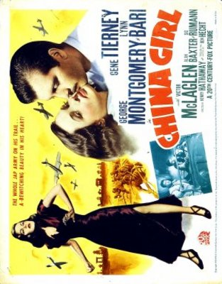 China Girl movie poster (1942) poster MOV_4d36856a