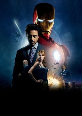 Iron Man movie poster (2008) poster MOV_4d6af925