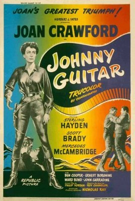 Johnny Guitar movie poster (1954) poster MOV_4da4d6c4