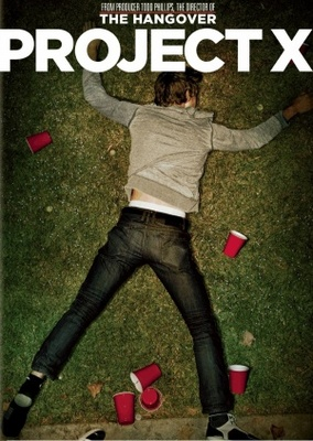 Project X movie poster (2012) poster MOV_4dbd3959