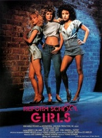Reform School Girls movie poster (1986) picture MOV_4dddf62b