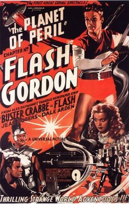 Flash Gordon movie poster (1936) poster MOV_4de255b1