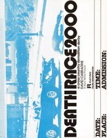Death Race 2000 movie poster (1975) picture MOV_4e07d4b1