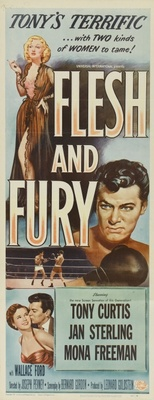 Flesh and Fury movie poster (1952) poster MOV_4e117c2b