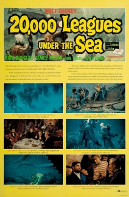 20000 Leagues Under the Sea movie poster (1954) poster MOV_4e2bcf73