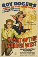 Heart of the Golden West movie poster (1942) picture MOV_4e3003a9