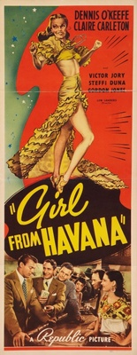 Girl from Havana movie poster (1940) poster MOV_4e3f4e8a