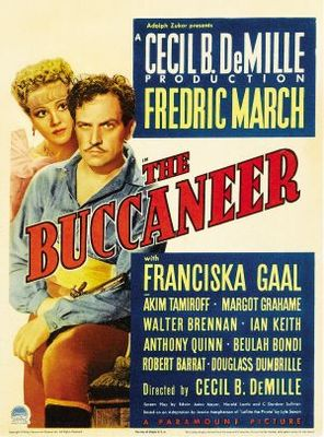 The Buccaneer movie poster (1938) poster MOV_4e4da581