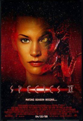 Species II movie poster (1998) poster MOV_4e51145d