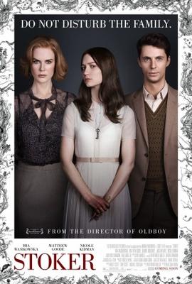 Stoker movie poster (2013) poster MOV_4e5457fe