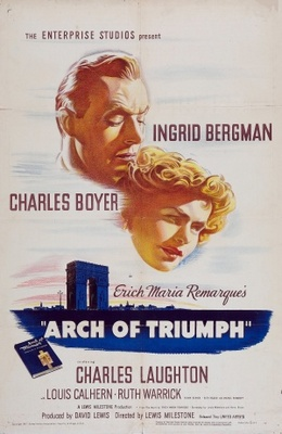 Arch of Triumph movie poster (1948) poster MOV_4e55ef69