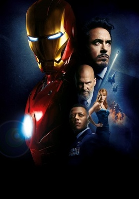 Iron Man movie poster (2008) poster MOV_4e566da3
