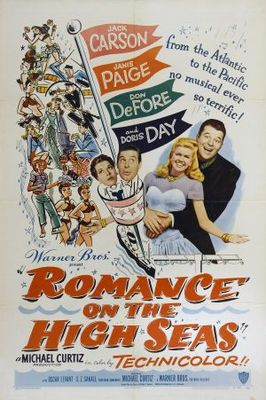 Romance on the High Seas movie poster (1948) poster MOV_4e574bff